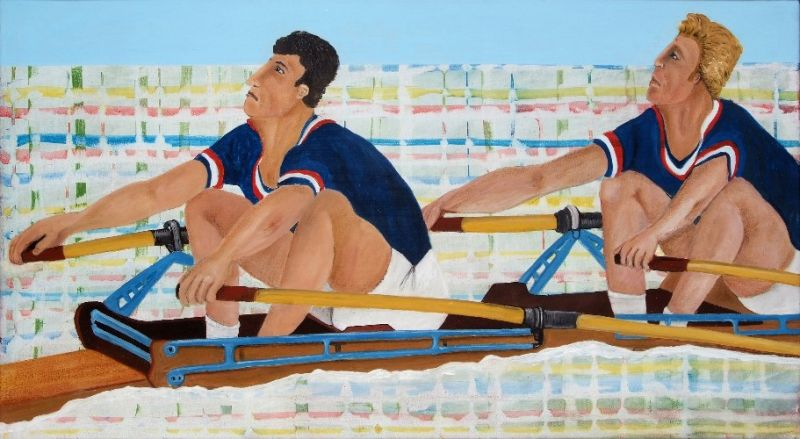 Ragone Reichardt<strong>Studie zu never change a winning team</strong>2009, 40x72cm